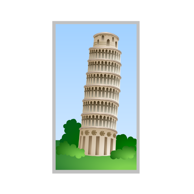 Leaning Tower of Pisa, Tower of Pisa,