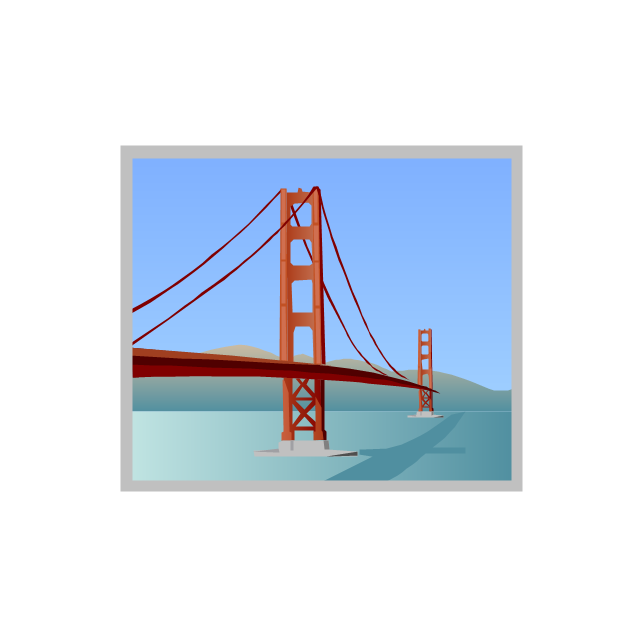 Golden Gate, Golden Gate, Golden Gate Bridge,