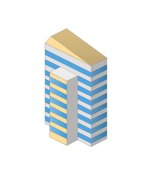 Tower block, building,