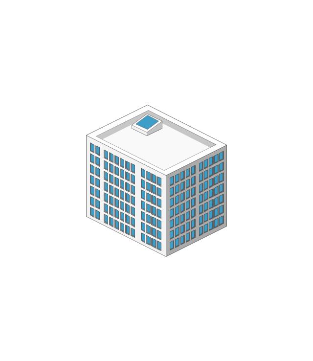 Commercial building, building, house,