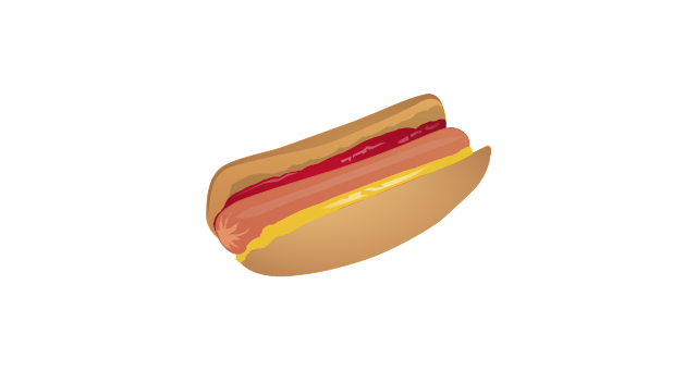 Hot dog, hotdog, hot dog,