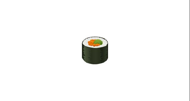 Sushi, sushi, sushi roll,