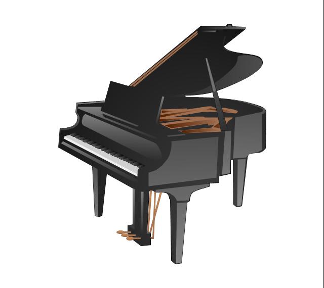 Piano, piano, grand piano,