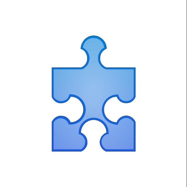 Puzzle middle 1, puzzle,