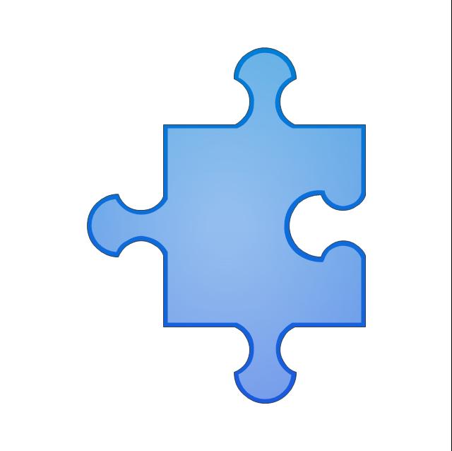 Puzzle middle 2, puzzle,