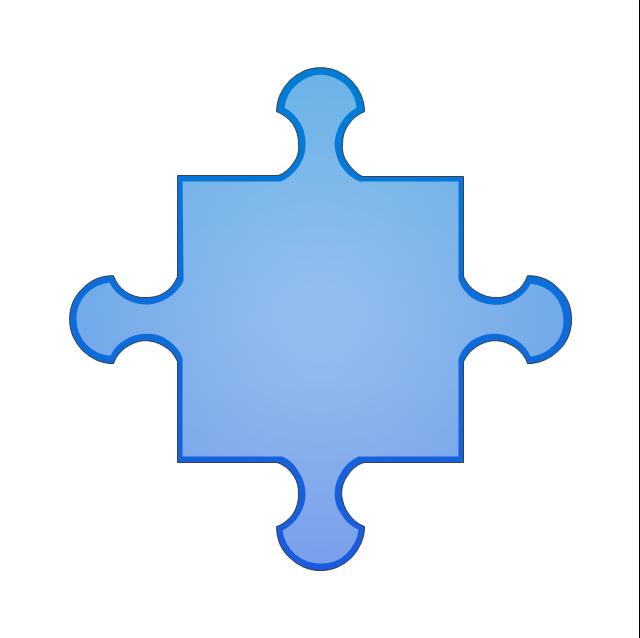 Puzzle middle 4, puzzle,
