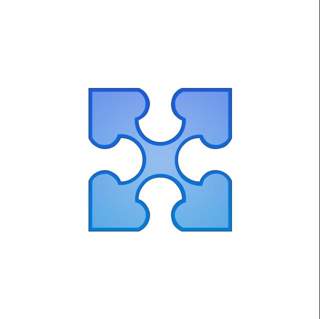 Puzzle middle 5, puzzle,