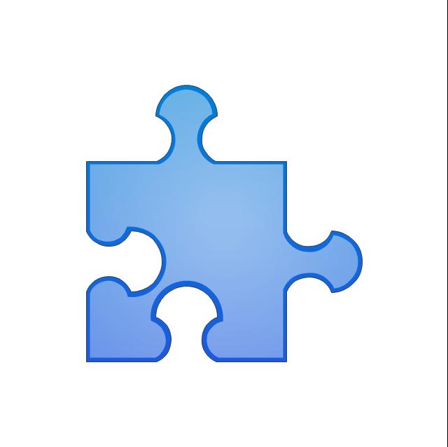 Puzzle middle 6, puzzle,