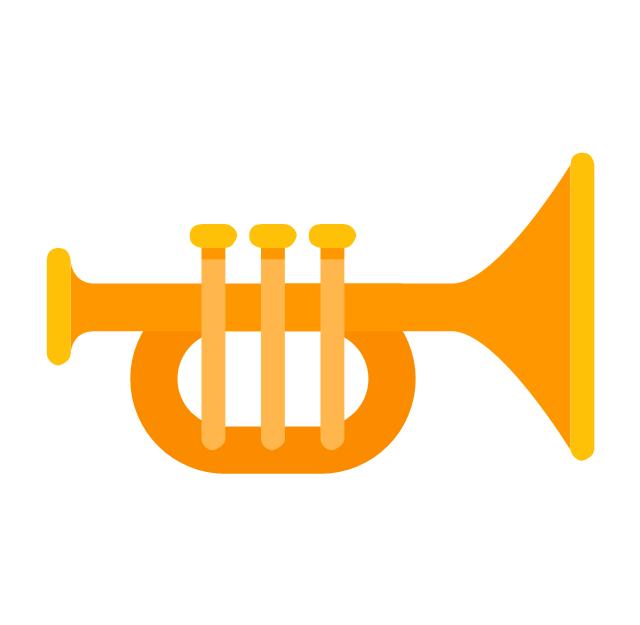 Trumpet, trumpet,