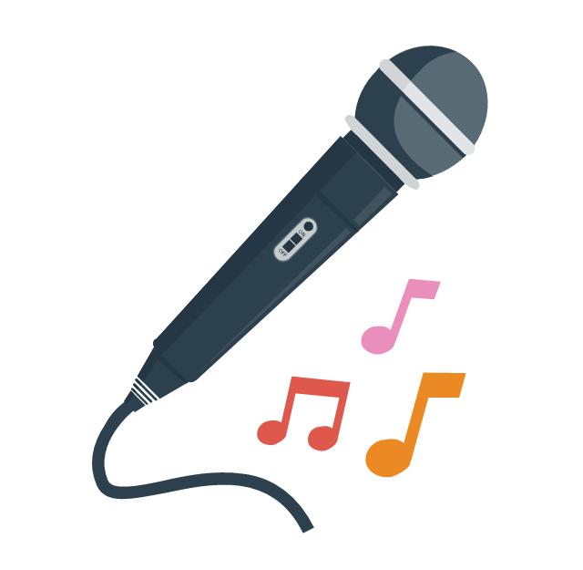 Karaoke, microphone, karaoke,