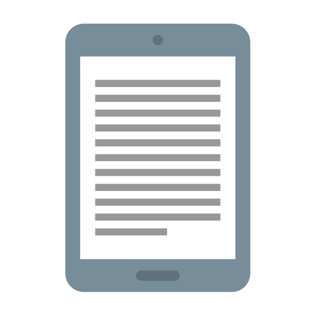 E-book, e-book, drawing shapes,
