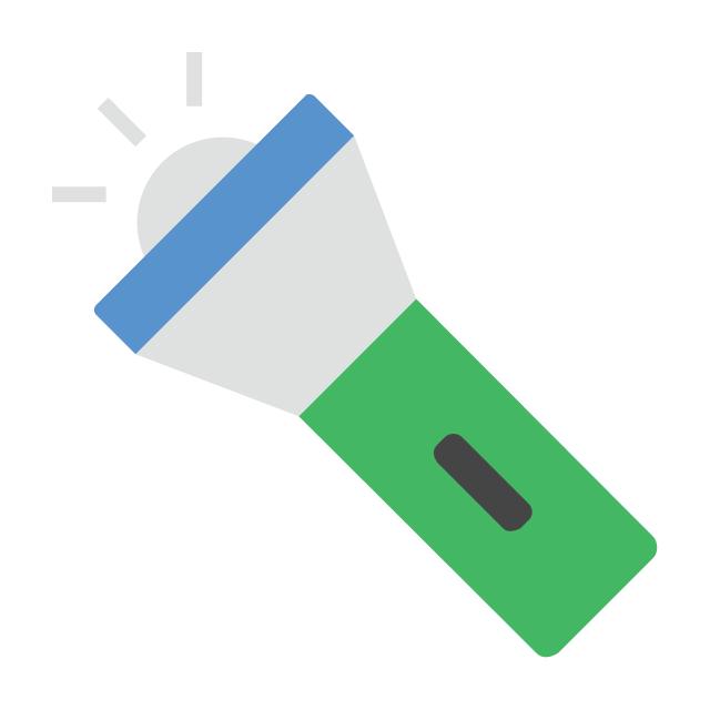 Flashlight, flashlight, pocket torch,