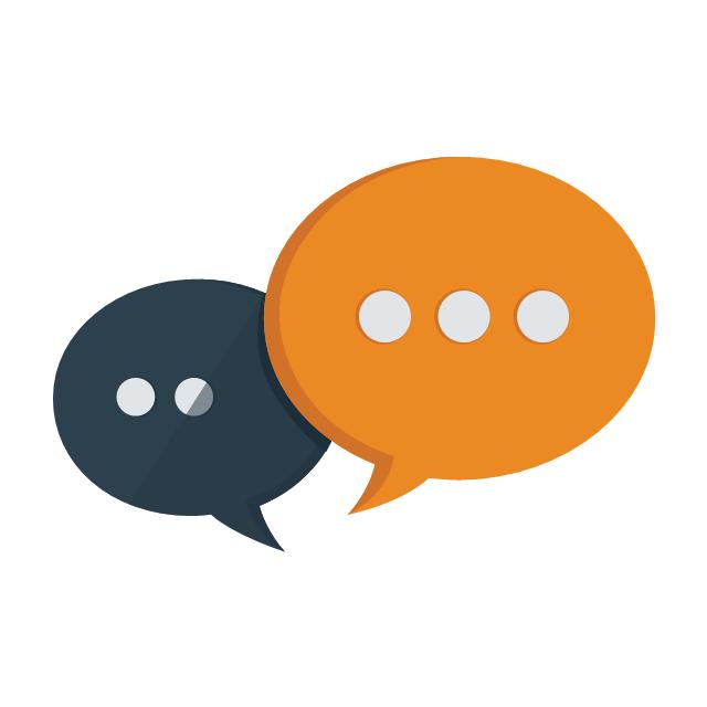 Communication, communication, messenger,