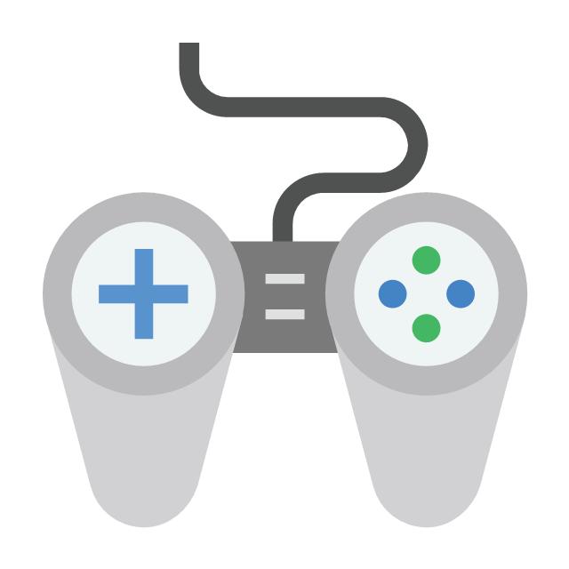Game pad, game pad, game stick,