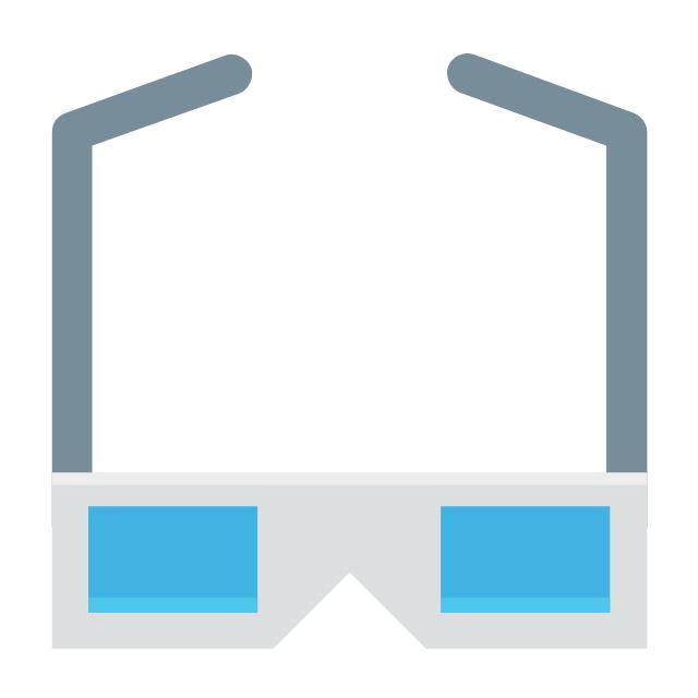 3D glasses, 3d glasses,