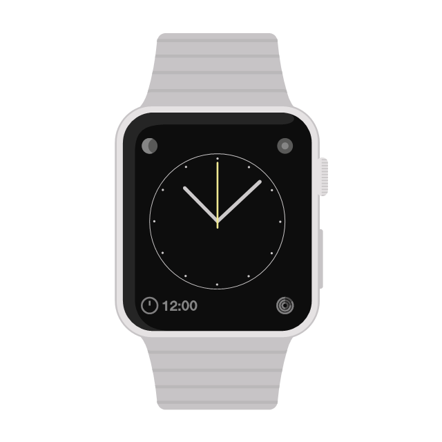 iWatch, iWatch, Apple watch, drawing shapes,