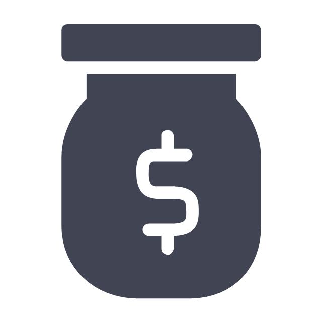 Money in jar, money in jar,