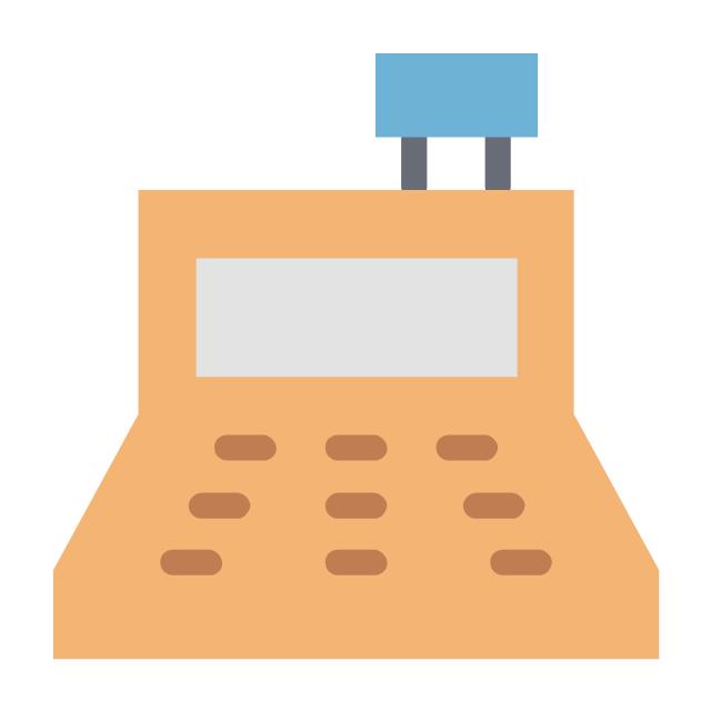Cash register finance calculation, cash register finance calculation,