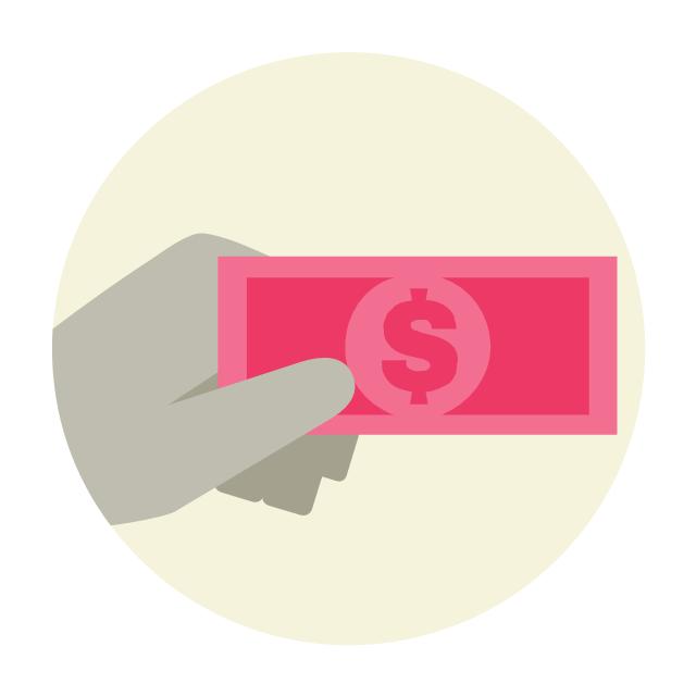 Cash payment, cash payment,