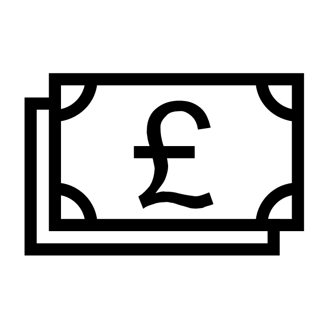 Pound banknotes, pound banknotes,