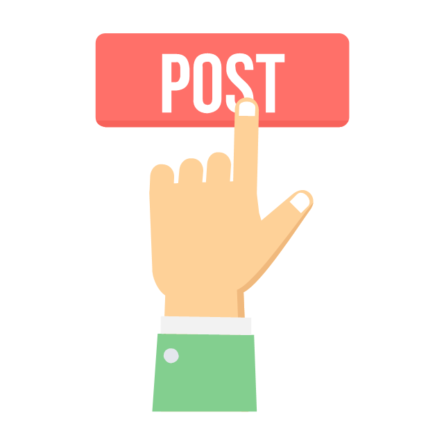 Post, post,