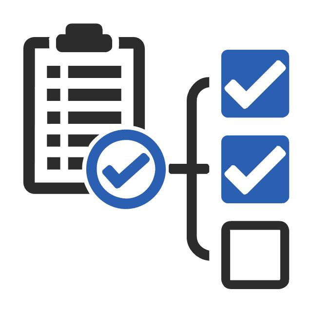 Checklist, checklist,