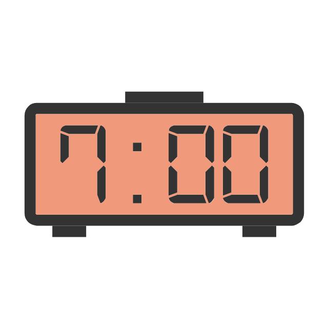 Electronic clock, electronic clock,