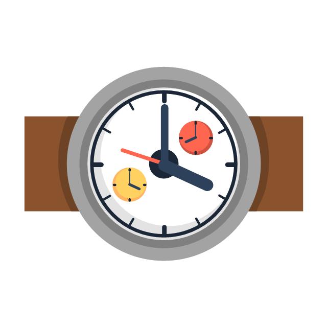 Dual watch, dual watch, drawing shapes,