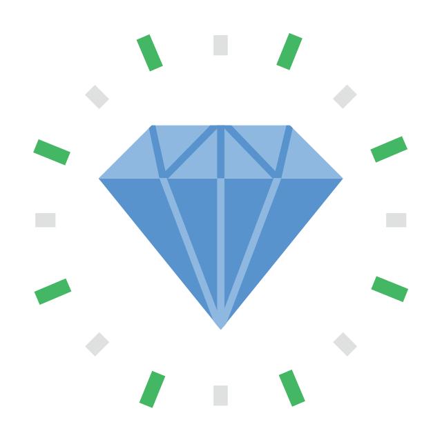 Diamond, diamond,