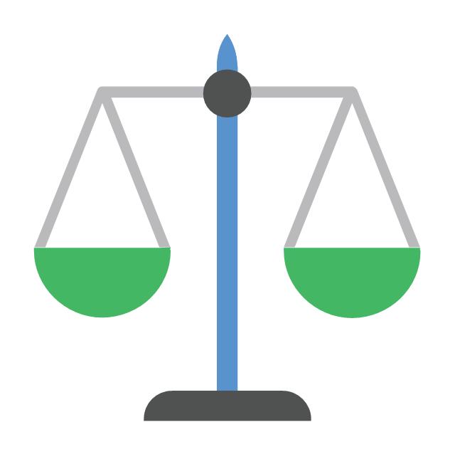 Balance scale, balance scale,