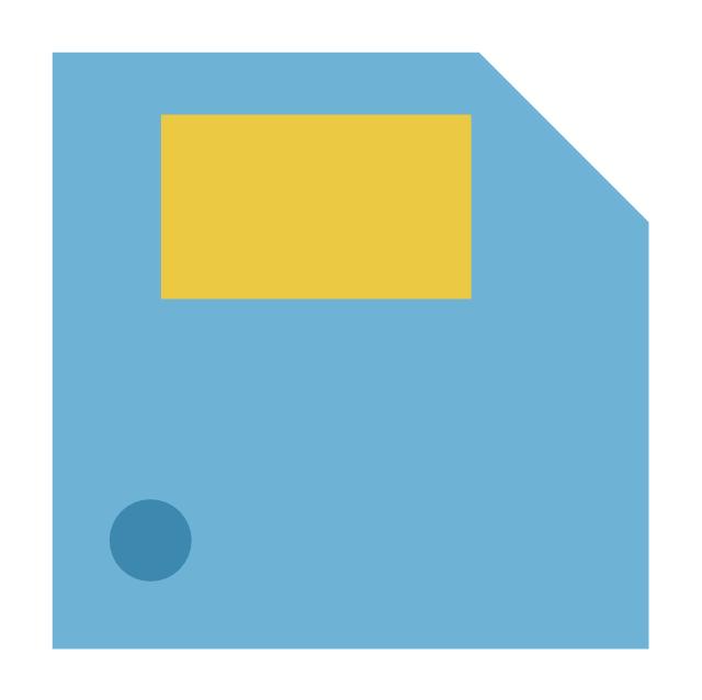 Floppy, floppy, save,