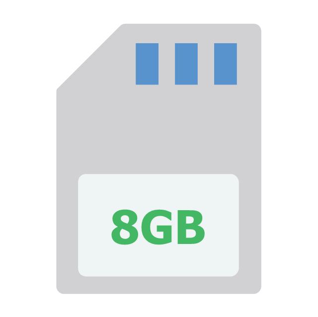 8GB memory card, 8GB memory card,