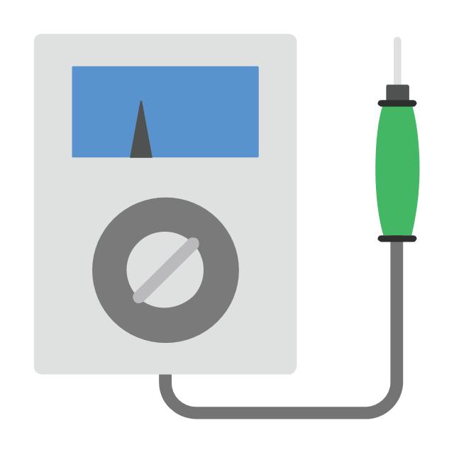 Voltage meter, voltage meter,