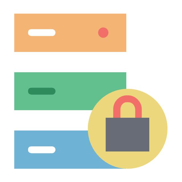 Server lock, server lock, server safety, data security,