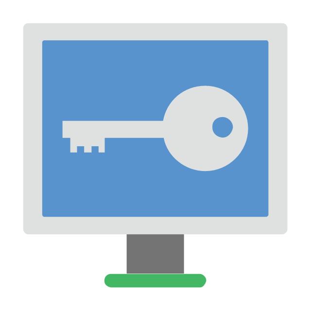 Screen padlock, screen padlock,