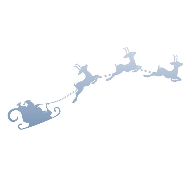 Santa's sleigh, Santa's sleigh,