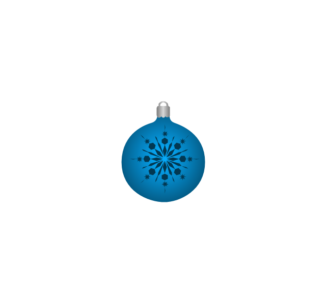 Christmas tree ornament, snowflake, blue, snowflake, Christmas tree ornament,