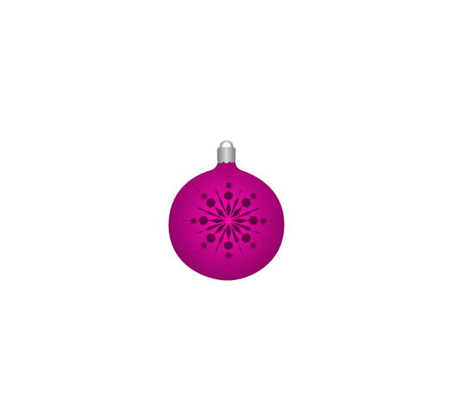 Christmas tree ornament, snowflake, lilac, snowflake, Christmas tree ornament,