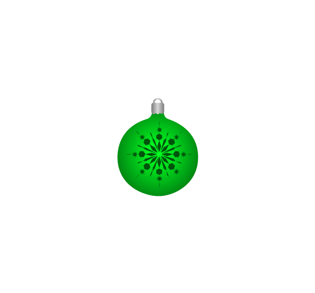 Christmas tree ornament, snowflake, green, snowflake, Christmas tree ornament,