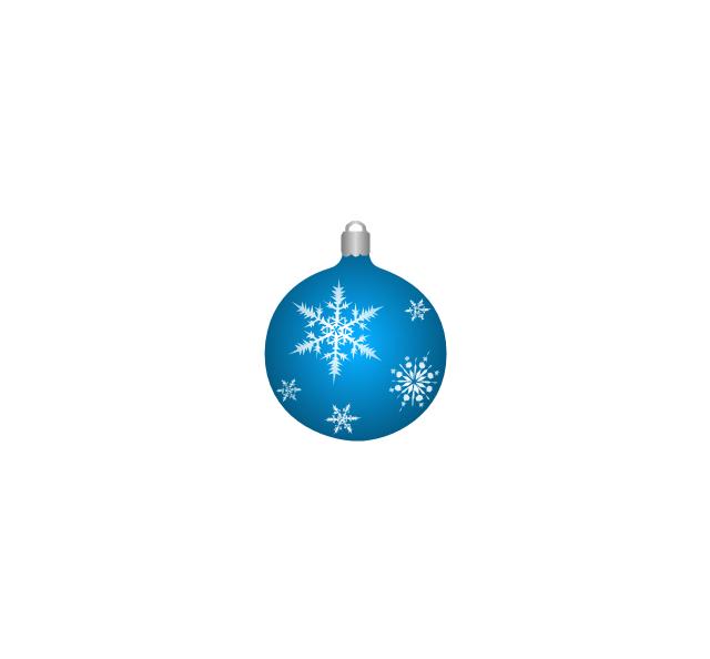 Christmas tree ornament, snowflakes, red, Christmas tree ornament,
