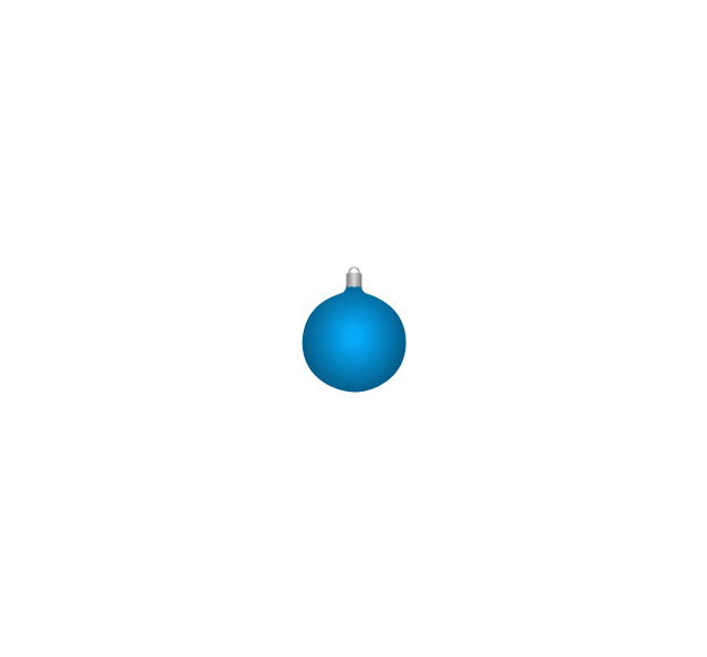 Christmas tree ornament, blue, Christmas tree ornament,