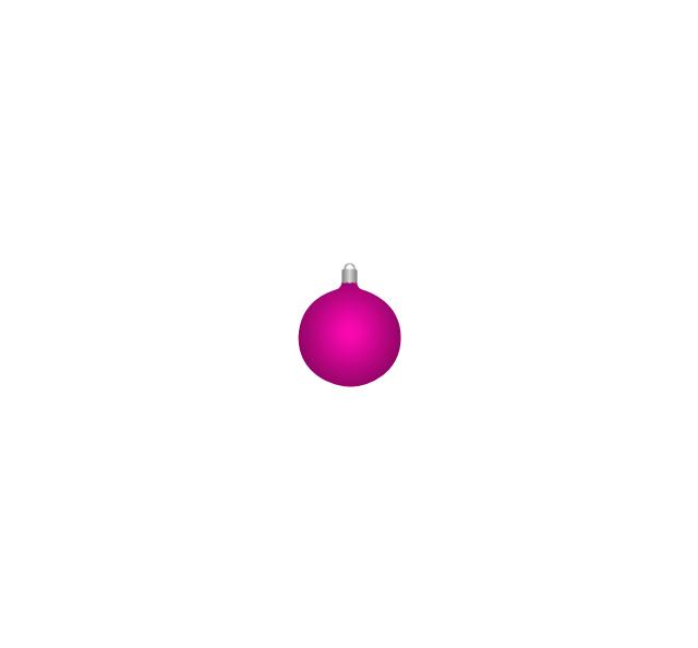 Christmas tree ornament, lilac, Christmas tree ornament,