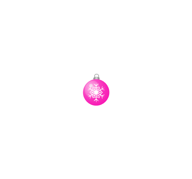 Christmas tree ornament, snowflake, lilac, small, snowflake, Christmas tree ornament,