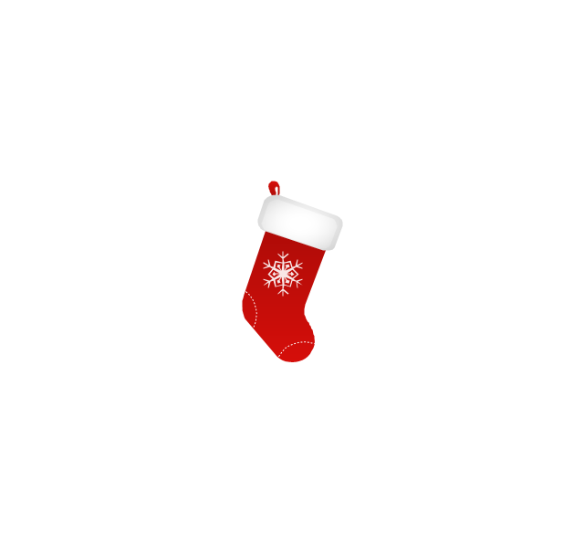Christmas stocking, snowflake, Christmas stocking,