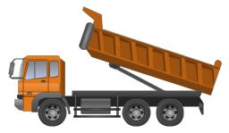 Dumper truck, dumper truck,