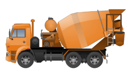 Concrete mixing transport truck, concrete mixing transport truck,