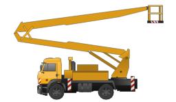 Aerial work platform, aerial work platform,