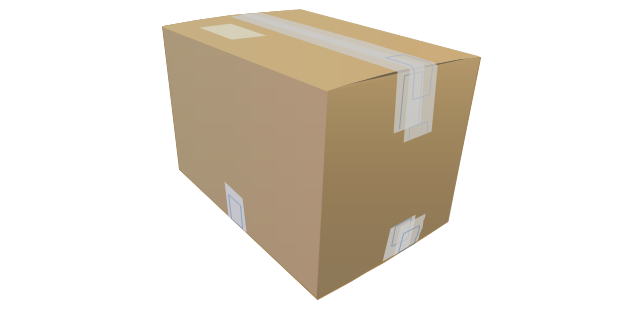 Packaging Loading Customs Vector Stencils Library