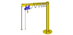 Jib crane, stationary crane,