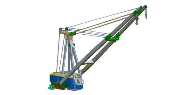 Deck crane, ship, crane,